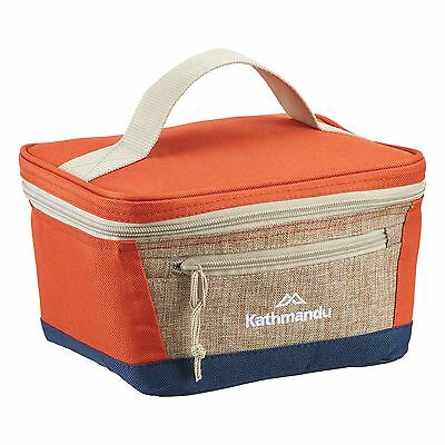 Kathmandu Insulated 3.5L Lunch Cooler Bag Portable Picnic Food Snack Box Orange