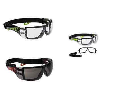 Portwest PS11 Tech Look Plus Head Strap Safety Goggles Foam Face Seal