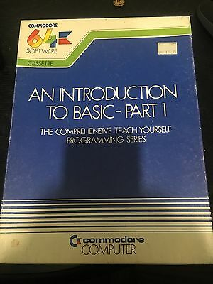COMMODORE 64 An Introduction to Basic - Part 1 - Manual and Cassettes
