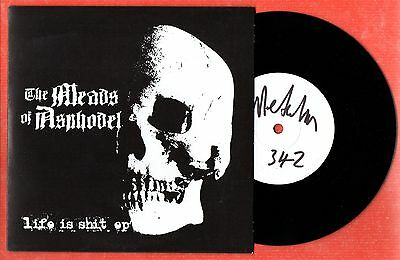 THE MEADS OF ASPHODEL Life is Shit EP - LIMITED EDITION Signed & Numbered - 2007