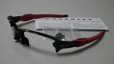 Oakley Flak 2.0 Polished Black Red Sunglasses Frame Only *authentic*