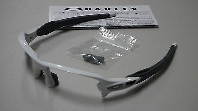 oakley ansi z87 1 prescription safety glasses r5w8  Oakley Flak 20 Polished White Slate Sunglasses Frame Oo9295-06 *authentic*