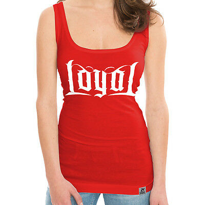 KONTRA K - Loyal - Red - GIRLIE - Tank Shirt