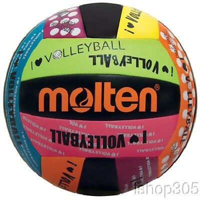 Molten Recreational Love Volleyball MS500-LUV Official size Outdoor Beach Ball