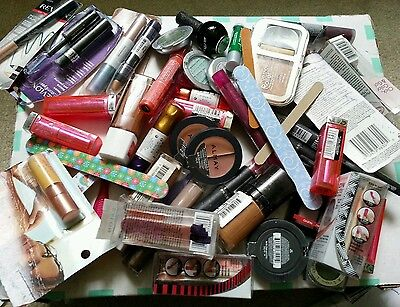 50 Pc cosmetics  Assorted Lot-revlon,loreal,cg,maybeliin and more