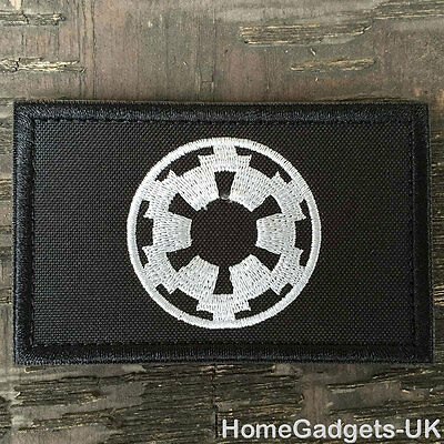 Star Wars Galactic Empire Logo Tactical Morale Patch Military OPS Desert Badge