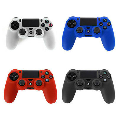 Silicone Gel Case Cover Skin for Sony Playstation PS4 Dual Shock Controller