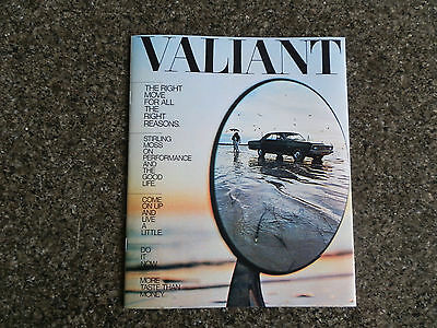 1970 Chrysler  Vg Valiant Hardtop Sales Brochure  100% Guarantee.
