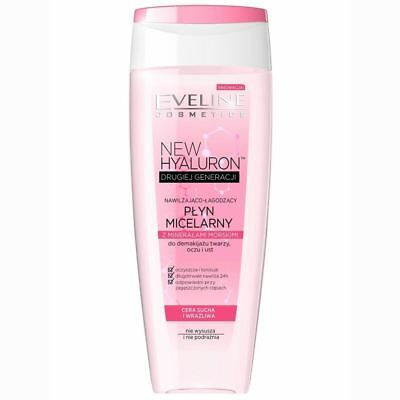 Eveline New Hyaluron Moisturising & Soothing Micellar Lotion Sea Minerals 200ml