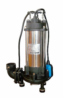IBO Heavy Duty 1.8KW ULTIMATE GRINDER Submersible Sewage SUMP PUMP 14000lph 230V