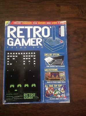Retro Gamer ~ Issue 1 ~ Sinclair / Mastertronic / All-Time Top 100 ~ Free Uk Pos