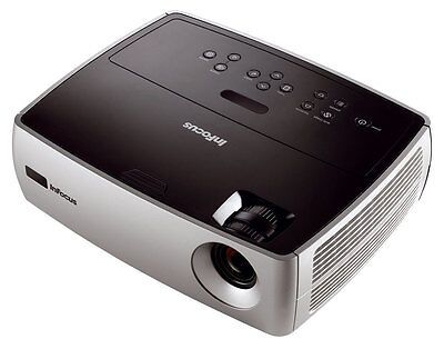 INFOCUS  Home Cinema 2400 LUMENS PROJECTOR NEW LAMP HD 3000 HOURS HDMI REMOTE