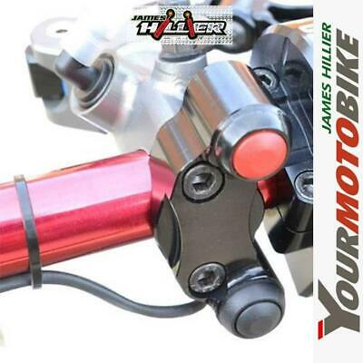Accossato 2 Button Race Start Switch / Kill / Stop Handle Bar Switchgear