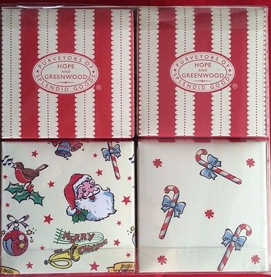 Hope & Greenwood Festive Retro Christmas Gift Boxes x4 Sweets Top Notch present