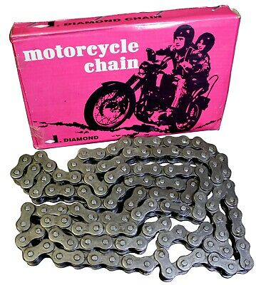 Diamond India #530 Motorcycle Roller Chain Replacement Harley Davidson 114 Pitch