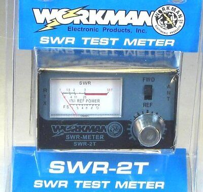 Workman SWR-2T CB Radio Test Meter SWR2T NEW