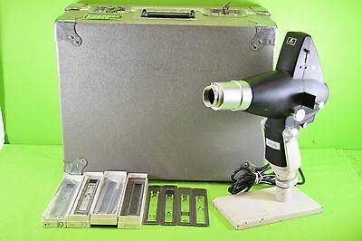 Marco Chart Projector Ophthalmology with Slides and Case #237