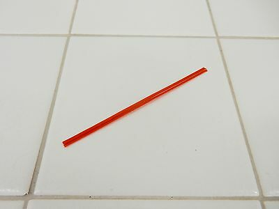 """4"""" Red Plastic Ice Bag Ties  *2,000 Count*"""