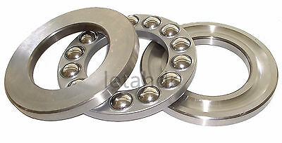 1/2/5/10pcs 3-in-1 Plane Axial Ball Thrust Bearing 51101 To 51110 Bearings