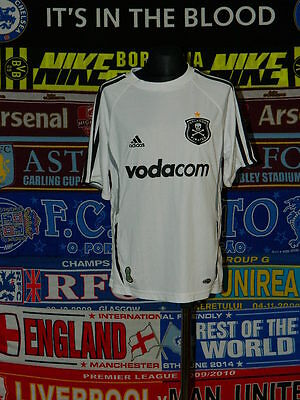 5/5 Orlando Pirates boys 9/10 years mint football shirt jersey trikot camiseta