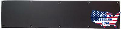 """Don-Jo 90 Metal Kick Plate, Duro Coated, 34"""" Width x 6"""" Height, 3/64"""" Thick, No"""