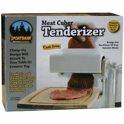 Sportsman SM07492 Meat Tenderizer/Cuber, New, Free Shipping