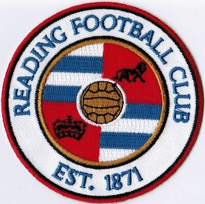 Reading FC Soccer Football England Embroidered Patch
