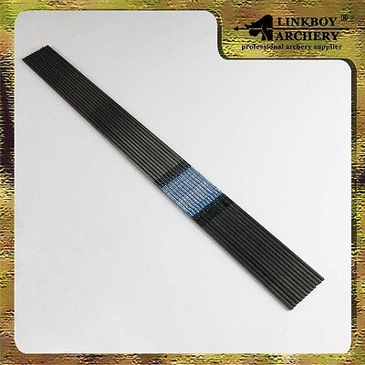 12*30''  carbon arrow shafts ID4.2mm f Recurve bow hunting sp500 Free shipping