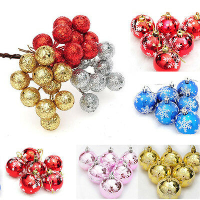 New Christmas Tree Ball Bauble Hanging Xmas Party Ornament Decoration Home Decor