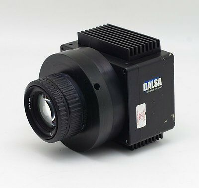 1pcs Used Good DALSA P2-23-06K40 CCD with Lens #C25L