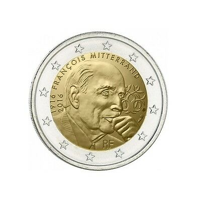 #Rm# 2 Euro Commemorative France 2016 - Mitterrand