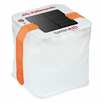 Kathmandu LuminAID Packlite12 Solar Power Light Emergency Portable Camp Lantern