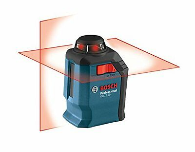 Bosch GLL 2-20 360-Degree Self-Leveling Line and Cross Laser, New, Free Shipping