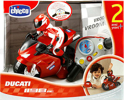 New Ducati 1198 Radio Controlled 24 Month  Chicco/present gift electronic car