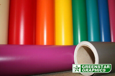 SELF ADHESIVE SIGN VINYL (Sticky Back Plastic) CHOOSE YOUR COLOUR & SIZE A4/ROLL