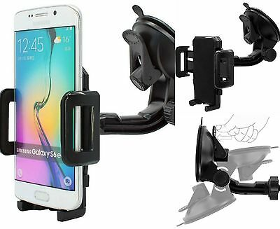 360° Universal Windshield In Car Mount Holder For Samsung Galaxy S7 Edge S6 S5