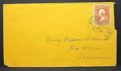 Old US Cover with 3c Stamp - Amerika Brief mit EF (I-5513
