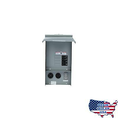 Siemens TL137US Talon Temporary Power Outlet Panel with a 20, 30, and 50-Amp Rec