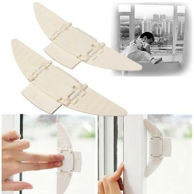 2pcs Baby Safety Window Door Closet Proofing Lock for Kids Infant Toddler
