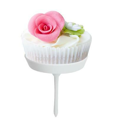 4pcs Cupcake Tray Stand Flower Nails SET Sugarcraft Decorating