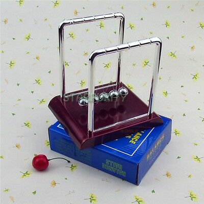 Newton Cradle Swing Ball Collision Bead Birthday Gift Science Kid Toy Home Decor