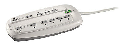 Insignia 11-Outlet  Surge Protector North America - White NS-WP4011 -WH-C