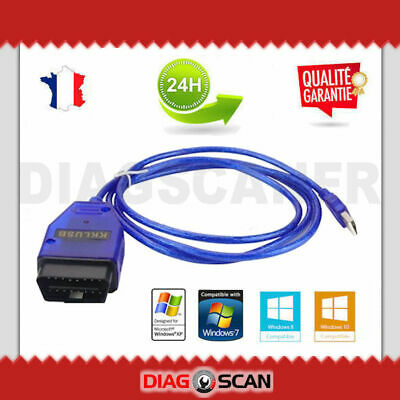 Interface de diagnostic multimarque ELM327 USB V1.5 + Logiciel en FR ELM 327 OBD