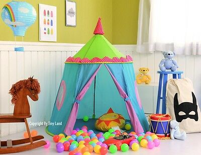 Sturdy Kids Pop Up Castle Play Tent Childrens Wigwam Teepee Indoor Party