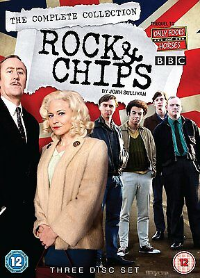 Rock & Chips - The Complete Collection 1 - 3 Dvd New/Sealed