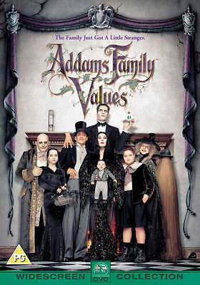 The Addams / Addams Family Values - The Sequel Dvd New/Sealed