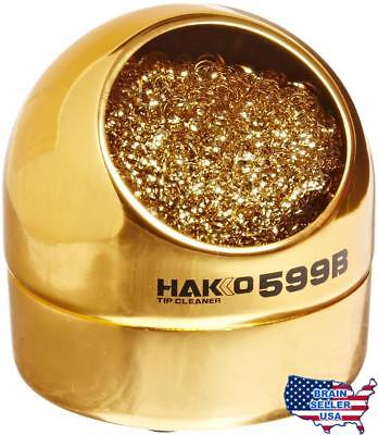 Hakko 599B-02 Solder Tip Cleaning Wire and Holder, No Tax, Free Ship