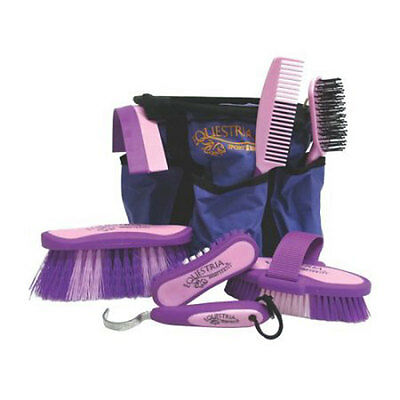 Equestria Sport Series Boxed Grooming Set, No. 2106 Desert Equestrian  Purple