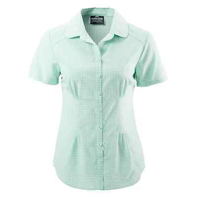 Kathmandu Tonaca Womens Insect Protection Short Sleeve Top Hiking Shirt Green