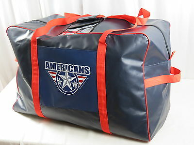 New Team Issued Tri City Americans WHL Pro Stock Hockey Player Equipment Bag CHL